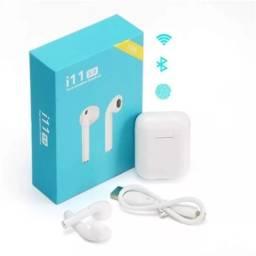 Fone de Ouvido Sem Fio Bluetooth i11 5.0 Touch - Tws