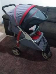 Carrinho de bebe e bebe conforto unissex
