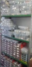 Oficina eletronica desmontada com clientes cadastrados