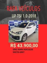 Super oferta Rafa Veiculos!!! UP TSI 2018 KM 16.000 RODADOS R$ 43.900,00 -tyu