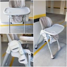 Cadeira alimentação Chicco polly neutra