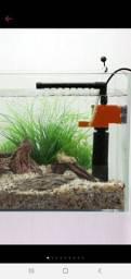 Bomba com filtro  3 Em 1 Filtro multifunções para aquário purificador