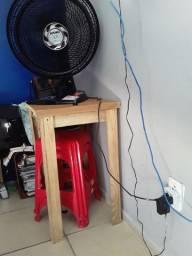 Mesa de apoio para ventiladores notbulk..etc..70x60x50...