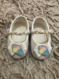 Sapato bebê pimpolho