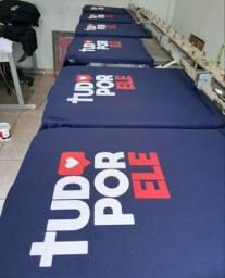 Camisas em serigrafia