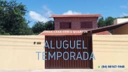 Casa em Tibau do Sul - Pipa - RN 4 Qts - 10 pessoas - Temporada