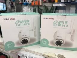 Câmera Ip Wi-fi Dome Visão Noturna Hd Prova D´água Android