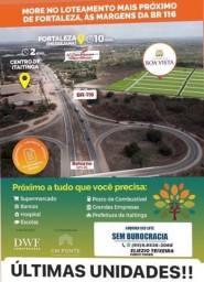 Melhor loteamento da região, com infraestrutura completo!