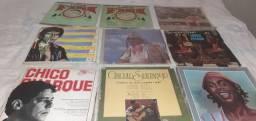 São CDs e Lps originais