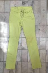 Calça verde limão/neon dos EUA
