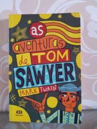 """Livro """"As aventuras de Tom Sawyer"""""""
