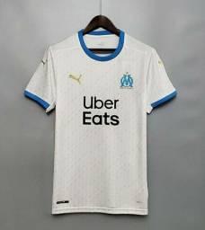 Camisa Olympique de Marseille tradicional