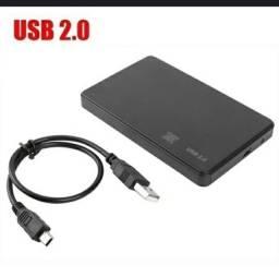 HD externo  512G, 1 TERA ,USB 2.0 ou 3.0
