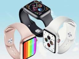 Relógio smartwatch W26 TELA ÍNFINITA