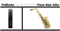 Palheta forte dura 2 anos para sax alto tenor e soprano frete grátis
