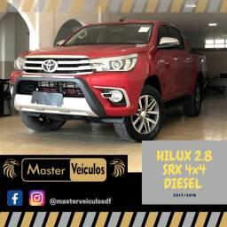 Hilux SRX 2.8 Diesel 4x4 Automática, 44 mil rodados, impecável