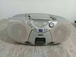 Rádio portátil Philips com CD