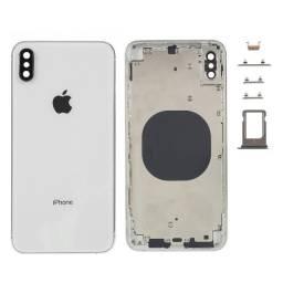 Carcaça de iPhone XS Silver (prateado-branco)
