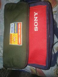 Câmera de vídeo Sony digital 8 handycam dcr-trv330