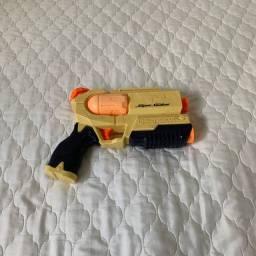 Brinquedo Pistola de Água Funcionando Perfeitamente