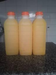 Suco natural de laranja 5 reais o litro
