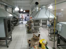 Fabrica de salgados e congelados com capacide de toneladas de produçao.