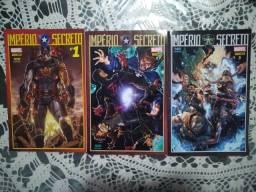 HQ Marvel - Império Secreto: edições 1-3