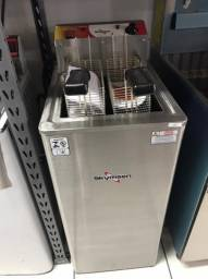 Fritadeira Eletrica em Inox - De Piso - Skymsen - Matheus