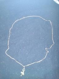 Cordão Rommanel top com medalha