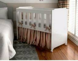 Mimi berço com colchão tigus Baby branco
