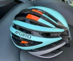 Capacete Ciclismo Bike Giro novo na caixa 55-59 cm