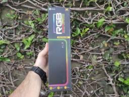 Mouse pad gamer RGB 250X350X3MM