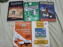 Livros curso piloto privado