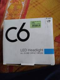 Lâmpadas de led HB4 600k na caixa