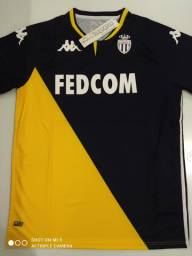 Camisa Monaco Away Kappa 20/21 - Tamanho: G