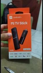 Mi Stick Tv Original Full HD Novo . Passo cartão