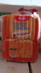 Salsichas congeladas de ótima qualidade!