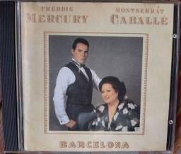 Cd Freddie Mercury/ Montserrat Caballé Barcelona