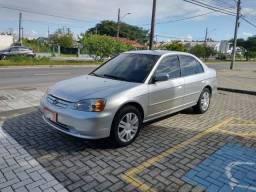 Honda Civic 1.7 Lxl 2003 automático