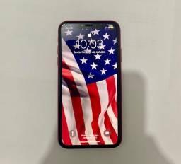 IPhone 11 vermelho pouco usado