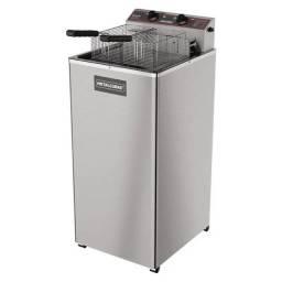 Fritadeira Elétrica Água e Óleo Inox GFAO 30 P 8000W Reativado Metalcubas