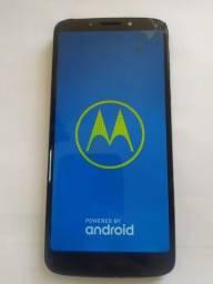 Moto G6 Play32 GB com vidro trincado , whats na derscrição