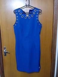 Vestidos azul. R$60
