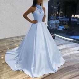 Vestido de noiva modelo princesa