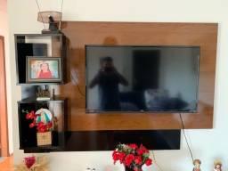 Painel de tv e rack