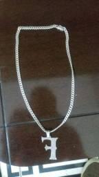 Cordao de prata