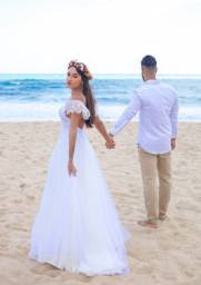 Vestido de noiva 34/36/38