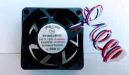 Miniventilador Nework 13.112-hh 24 vdc 6800 rpm rol 60x60x25mm