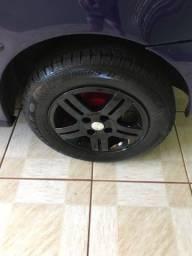 Rodas 14 pneus novos troco