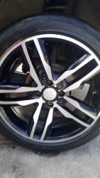 Roda aro 17 pneus bons